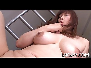 Fake penis barrage on horny slut