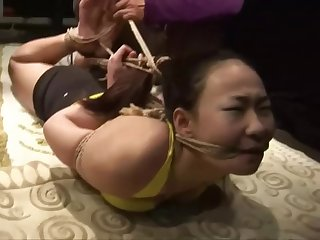 Strictly Hogtied Chinese Girl