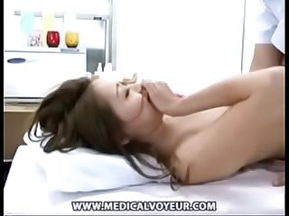 Cute Asian girls shown her boobs pussy during massage NAKEDCAMGIRLZLIVE.COM